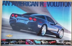 "CORVETTE POSTERS - ""An American Revolution"" Posters in Joliet, Illinois"