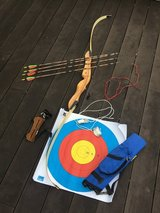 Sport Bow + Arrow set in Okinawa, Japan