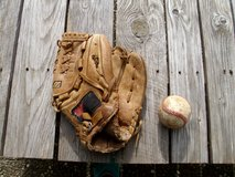 baseball glove with ball in Ramstein, Germany