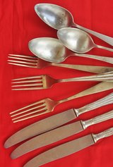 Antique and vintage Italian cutlery in Okinawa, Japan
