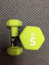5 pound weight set in St. Charles, Illinois