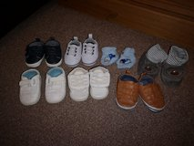 bundle of baby shoes. size 1 and 3-6 months in Lakenheath, UK