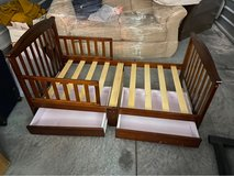 Brown toddler bed in Spring, Texas