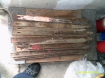 STEEL FORMING STAKES 24-INCH HIGH AND 1/12--INCH WIDE  (USE ) $ 20.00 FOR 43 - STAKES in Sugar Grove, Illinois