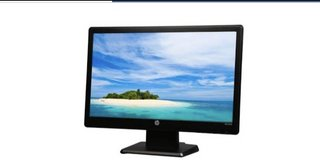 HP LCD Monitor in Naperville, Illinois