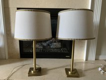 Brass Lamp Set in Beaufort, South Carolina