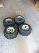 Club Car golf cart tires and rims in Alamogordo, New Mexico