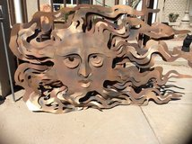Metal art in Alamogordo, New Mexico