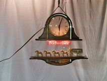 Budweiser Beer Light/Clock in Naperville, Illinois