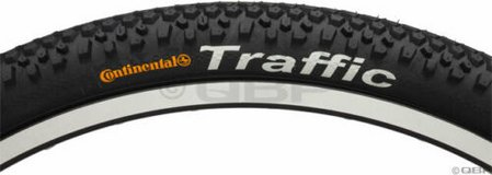 continental traffic mountain bike tire 26x2.1, new, never used in Okinawa, Japan