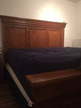 King size Bed with Mattress in Stuttgart, GE