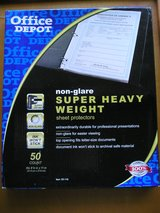 111 Heavy Weight Non Glare Page Sheet Protectors in Naperville, Illinois