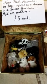 Plush animals in Fort Campbell, Kentucky