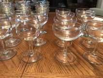 Champagne and wine glasses in Montgomery, Alabama