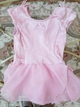Ballet or Gymnastics' Leotard With Built In Skirt - Girl's Size 4/5 - Good Condition in Plainfield, Illinois
