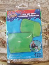 Swimming Arm Bands - Ages 4  - 1 Pair - New In Package in Plainfield, Illinois