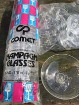 CHAMPAGNE GLASSES 4 oz. in Fort Campbell, Kentucky