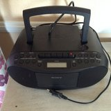 Sony Cd/Radio/cassette Player in Ramstein, Germany
