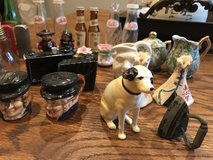 Group of salt and pepper and other items in Conroe, Texas