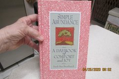 """Simple Abundance"" - A Day Book Of Comfort & Joy - Hardback Book in Houston, Texas"