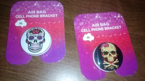 phone bracket with skull print in The Woodlands, Texas