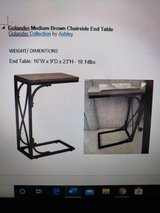 Golander Medium Brown Chairside End Table Golander Collection by Ashley in San Ysidro, California