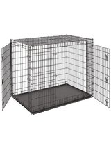 Dog crate in MacDill AFB, FL