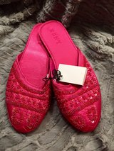 Sequined Sateen Velvet Slippers - Extra Large    BRAND NEW! in Naperville, Illinois