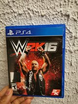 WWE 2K16 for the PS4. in Spangdahlem, Germany