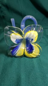 Blown Glass Flower Vase #2490-109 in Camp Lejeune, North Carolina