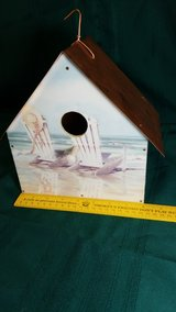 Beach Themed Copper Roofed Bird House #2499-8 in Camp Lejeune, North Carolina