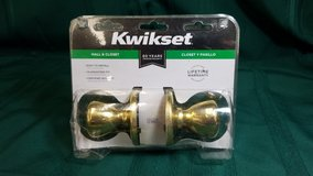 Kwikset Hall & Closet Knob Set #266-2537 in Camp Lejeune, North Carolina