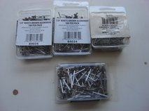 """NEW BOXES OF 1/8 """" BROWN  ALUMINUM RIVETS in St. Charles, Illinois"""