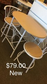 White Table and Chairs (New) in Fort Leonard Wood, Missouri