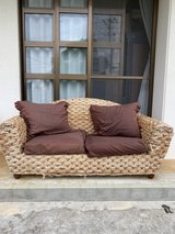 couch Rattan Love seat in Okinawa, Japan