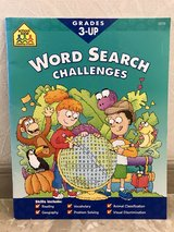 NEW SchoolZone Word Search Challenge (Grades 3-Up) in Okinawa, Japan