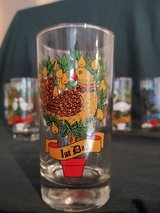 Christmas glassware in Cary, North Carolina