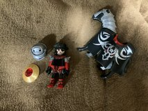 Playmobil figure and horse in Okinawa, Japan