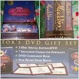 ALADDIN SPECIAL EDITION DVD GIFT SET NEW (LEAVENWORTH,KS) in Kansas City, Missouri