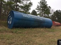 8000 gal steel fuel tanks with fiberglass coating in Cleveland, Texas