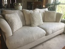 White 7 piece living room set in Naperville, Illinois