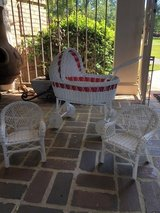 Antique Doll Stroller and Chairs in Warner Robins, Georgia