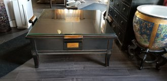 Black Elmwood Coffee Table and Two Lamp Tables in Morris, Illinois