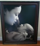 Framed loving family (mother and infant) picture or replace own pic/art in frame in Batavia, Illinois