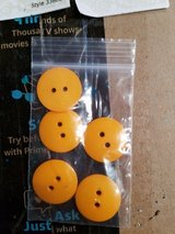 Yellow buttons in Oswego, Illinois