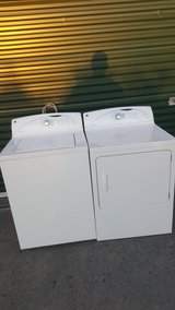 GE hydrowave washer & dryer (free delivery) credit card accepted in Camp Lejeune, North Carolina
