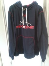 And one hooded sweatshirt size large in Chicago, Illinois