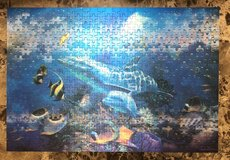 RoseArt 3D Visions Sea Life Puzzle, 500 pc in Fort Campbell, Kentucky
