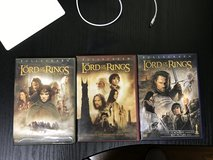 Lord of the Rings 1, 2, and 3 in Okinawa, Japan