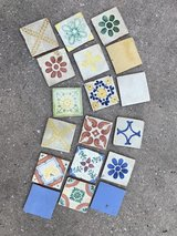 Authentic Mexican hand-painted tiles in Kingwood, Texas